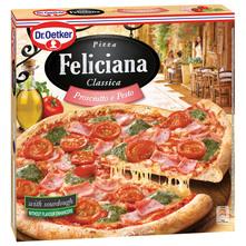 Dr. Oetker Feliciana Pizza sa šunkom za pizzu i pesto umakom 360 g