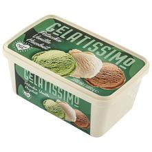 Gelatissimo Sladoled vanilija, lješnjak i pistacija 2000 ml