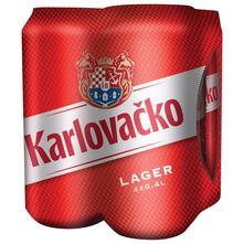 Karlovačko Svijetlo pivo 4x0,4 l