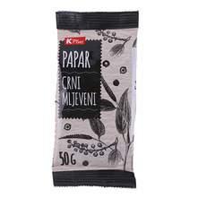 Papar crni mljeveni K Plus 50 g