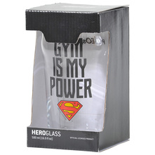 Polleo Sport Superman Gym Is My Power Čaša 500 ml