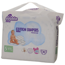 Violeta Double Care Air Dry Pelene, veličina 5 (Junior) 11-25 kg 36/1+ Vlažne maramice 20/1