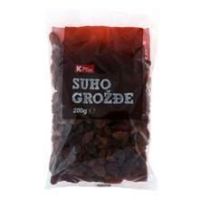 K Plus Suho grožđe 200 g