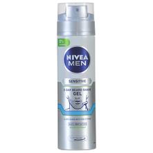 Nivea Men Sensitive 3-day beard Gel za brijanje 200 ml