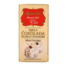 Kandit Dessert Chef Bijela čokolada za jelo i kuhanje 200 g