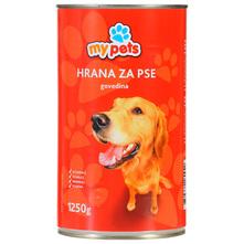 My pets Hrana za pse govedina 1250 g