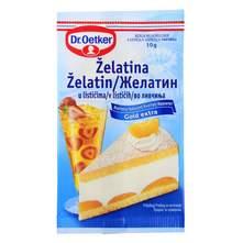 Dr.Oetker Želatina bijela u listićima 10 g