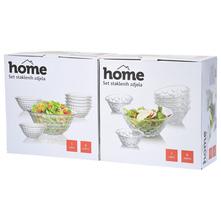 Home Set staklenih zdjela razne vrste 7/1
