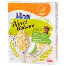 Lino Nutri Balance Pahuljice jabuka, cimet i chia 350 g