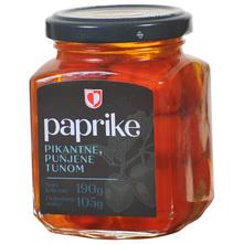 Podravka Paprike pikantne, punjene tunom 105 g