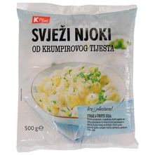 K Plus Svježi njoki od krumpirovog tijesta 500 g