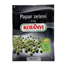 Kotanyi Papar zeleni u zrnu vrećica 12 g
