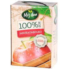Moj dan 100% sok jabuka 3 l