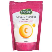 Encian Natrijev askorbat Vitamin C u prahu 200 g