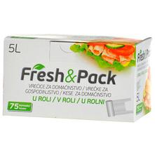Fresh&Pack Vrećice za domaćinstvo 5 l 75/1