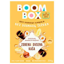 Boom Box Zobena kaša s bananom, čokoladom i lješnjacima 300 g