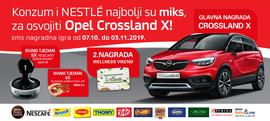 Konzum i Nestle najbolji su miks, za osvojiti Opel Crossland X