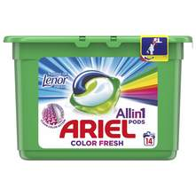 Ariel Allin1 Deterdžent touch of Lenor fresh 14 tableta