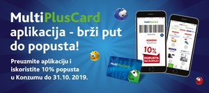 Preuzmi MultiPlusCard aplikaciju!