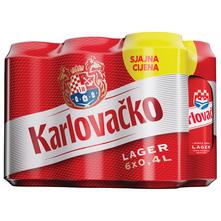 Karlovačko Svijetlo pivo 6x0,4 l