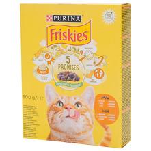 Friskies 5 Promises Hrana za mačke piletina i povrće 300 g