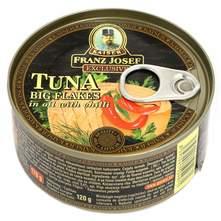 Franz Josef tuna komadi u ulju sa chilliem 120 g