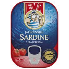 Eva Jadranske sardine s rajčicom 115 g