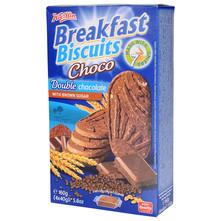 Breakfast Biscuits Choco double chocolate 160 g