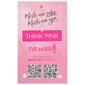 Think Pink Ručnik 30x50 cm