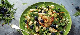 Salata od piletine s borovnicama