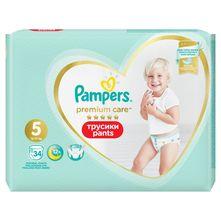 Pampers Premium Care Pelene-gaćice, Veličina 5, 12-17 kg 34/1