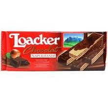Loacker vafli mliječna čokolada i krema od lješnjaka 118 g