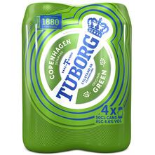Tuborg Green Svijetlo pivo 4x0,5 l