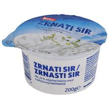 K Plus Zrnati sir 20% m.m. 200 g