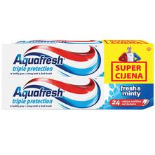 Aquafresh Triple Protection Zubna pasta fresh&minty 2x100 ml