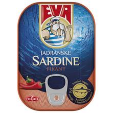 Eva Jadranske sardine pikant 81 g