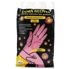 Dora rukavice nitrilne pvc veličina M 10/1