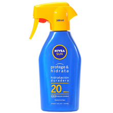 Nivea Sun Protege&Hidrata SPF 20 Obiteljski sprej za sunčanje 300 ml