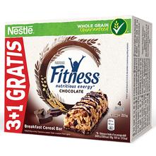 Nestlé Fitness Žitna pločica 4x23,5 g 3+1 gratis