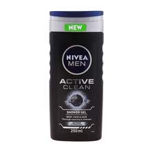Nivea Active Clean gel za tuširanje 250 ml