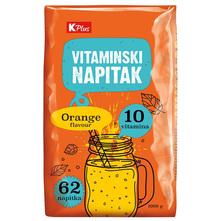 K Plus Vitaminski napitak okus naranča 1000 g