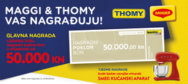 Maggi & Thomy te nagrađuju