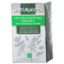 Naturavita Čaj metvica, matičnjak i naranča 30 g