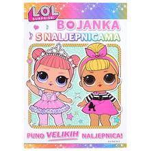 L.O.L. Surprise Bojanka s naljepnicama