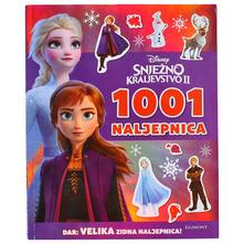 Disney Snježno kraljevstvo II-1001 naljepnica