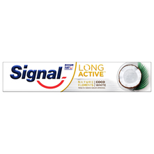 Signal Long Active Zubna pasta coco white 75 ml