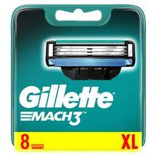 Gillette Mach 3 Zamjenske britvice 8/1