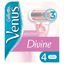 Gillette Venus Divine Patrone sensitive 4/1