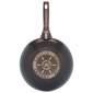 Mehrzer Premium Granit Induction Tava wok 28 cm