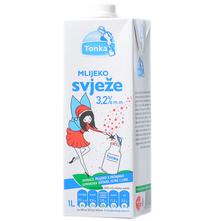 Tonka Svježe mlijeko 3,2% m.m. 1 l